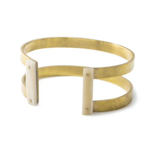 Zorina Double Bar Cuff Bracelet