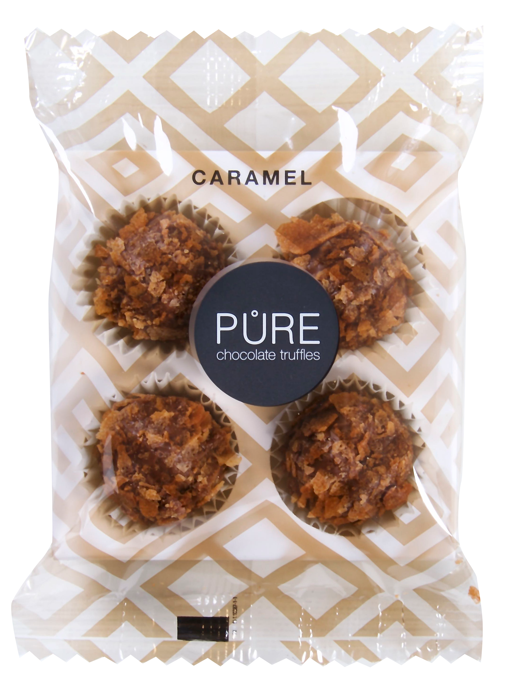 Pure Chocolade Truffels - Caramel on the go