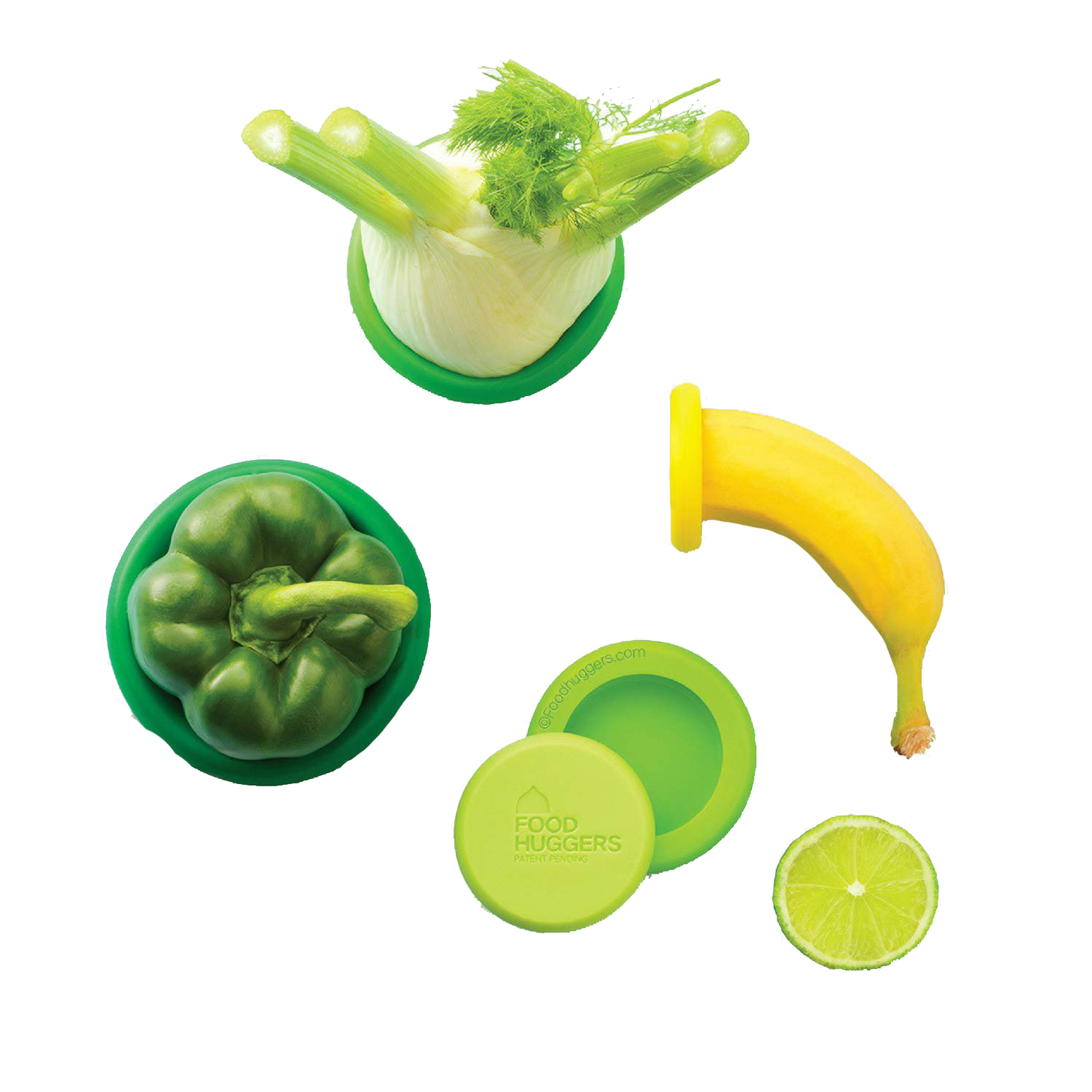 Eden Silicone Food Hugger - Set of 4 - Earthlogy