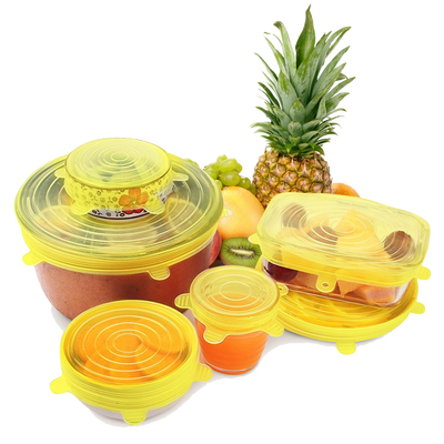 Earthlogy™ Silicone Reusable Lids
