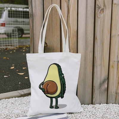 Cutie Avocado Tote Bag