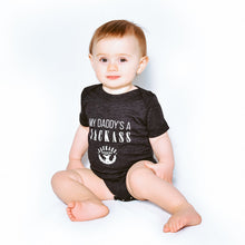 Load image into Gallery viewer, Tri‑Blend Baby Onesie