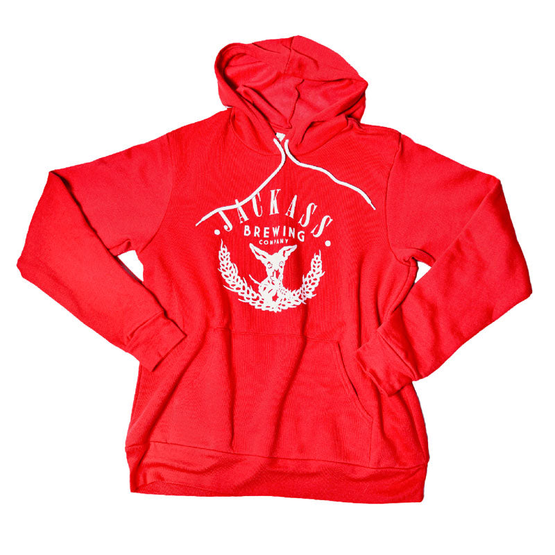 Pullover Hoodie (Red)