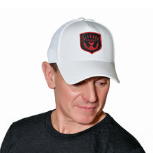Load image into Gallery viewer, White Stretch-Fit Hat