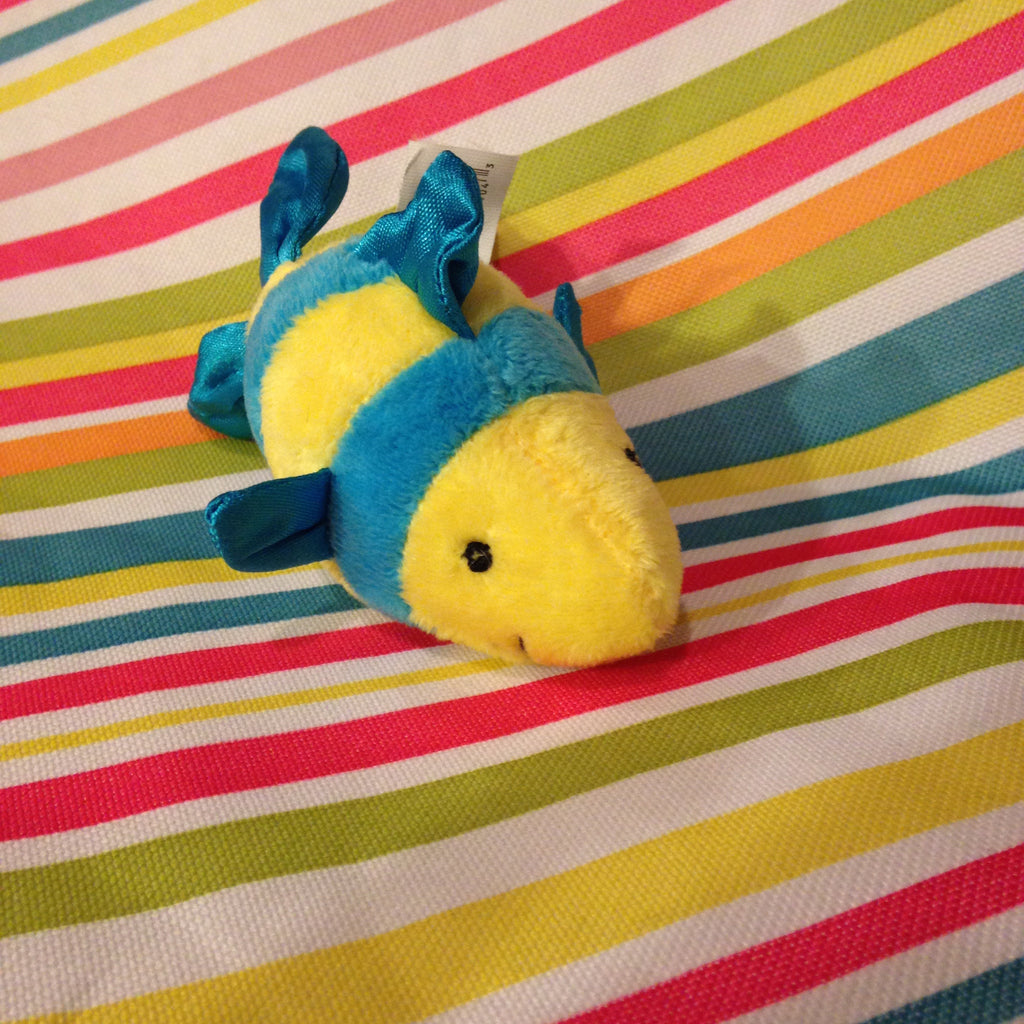 Sea Critter Finger Puppet Striped Fish