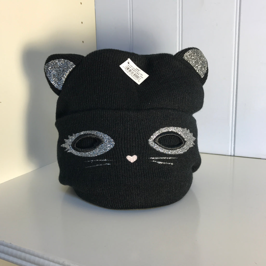 Sparkly Kitty Beanie and Mask