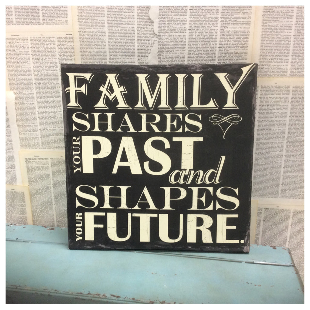 Family Past and Future Wall Canvas