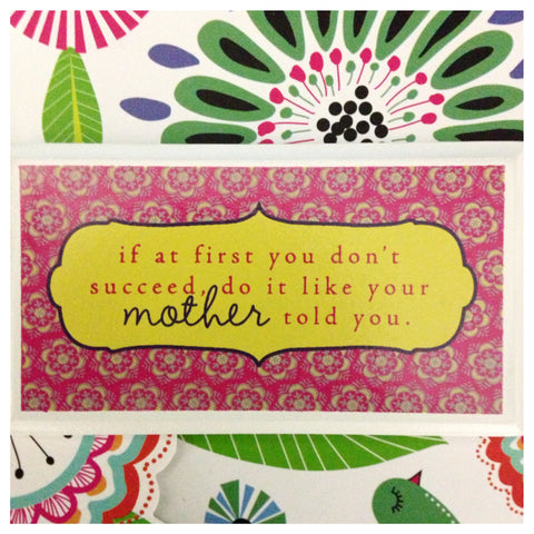 Mom's Advice Magnet