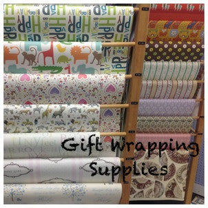 a picture of an assortment of wrapping papers