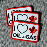 'I Love Canadian Oil & Gas' Patch