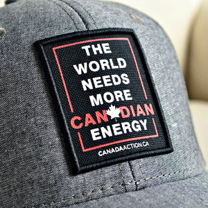 'The World Needs More Canadian Energy' Snapback Hat