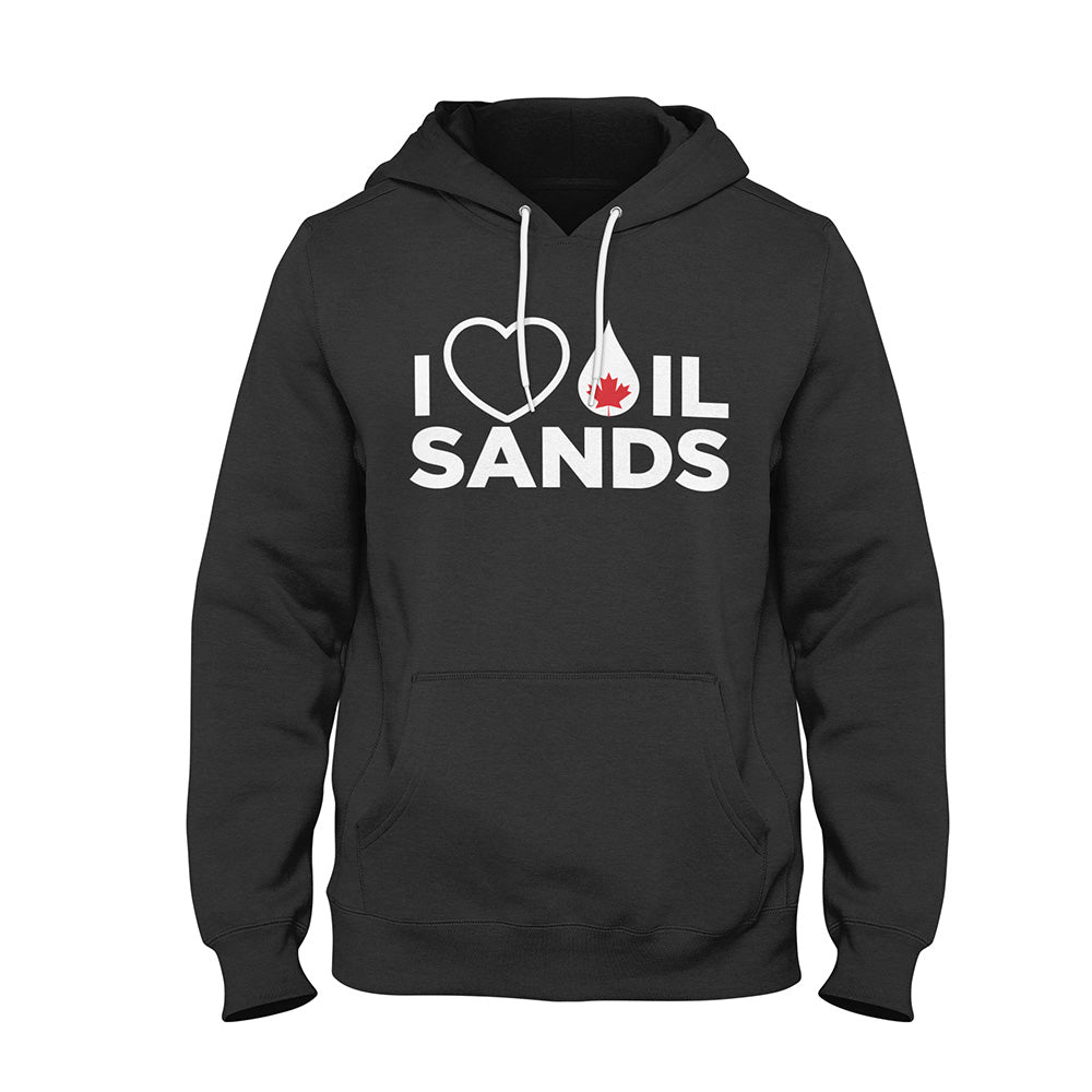 'I Love Oil Sands' ProFleece Hoodie