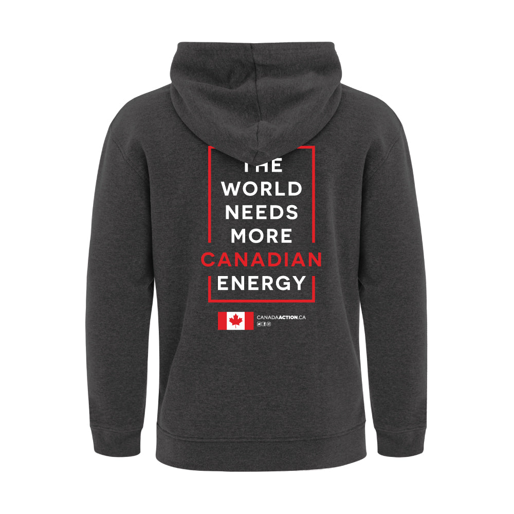 'I Love Canadian Oil & Gas' ProFleece Hoodie