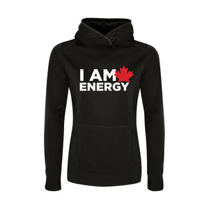 'I am Canadian Energy' Womens Game Day Hoodie