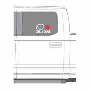 'I Love Canadian Oil & Gas' Window / Vehicle Decal