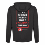 'I Love Canadian Natural Gas' Mens Game Day hoodie
