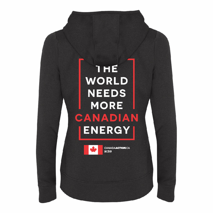 'I Love Canadian Natural Gas' Womens Game Day Hoodie