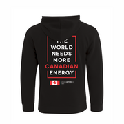 'I Love Canadian Pipelines' Youth Hoodie