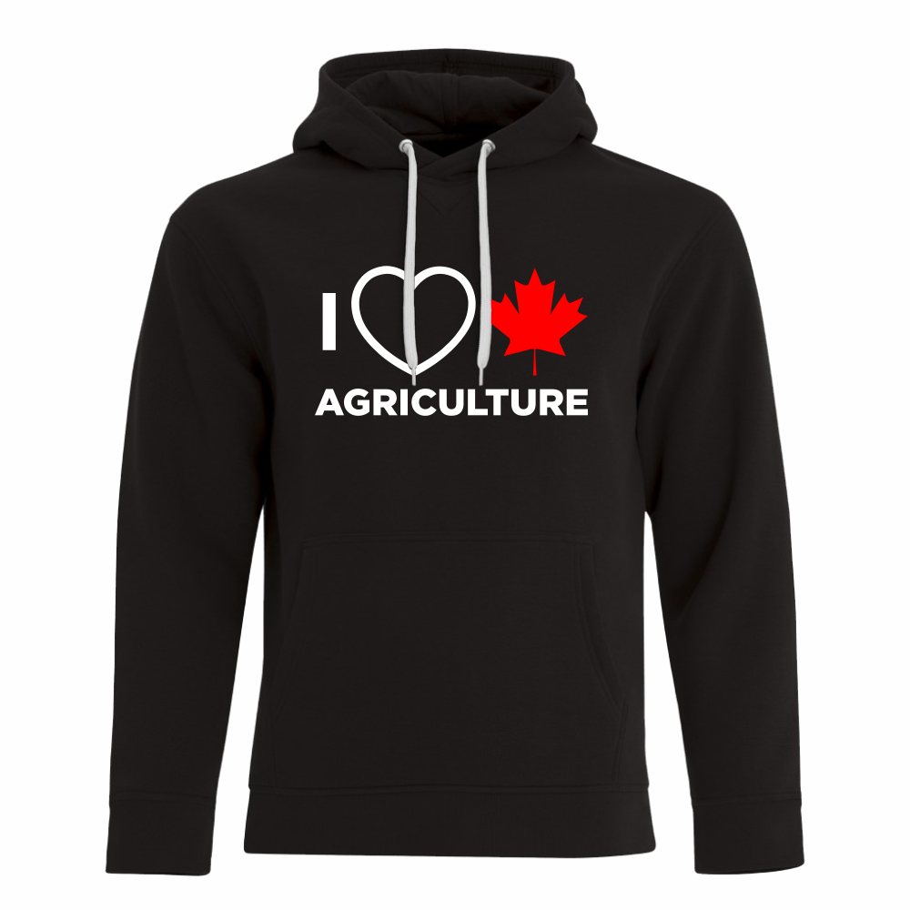 'I Love Canadian Agriculture' ProFleece Hoodie