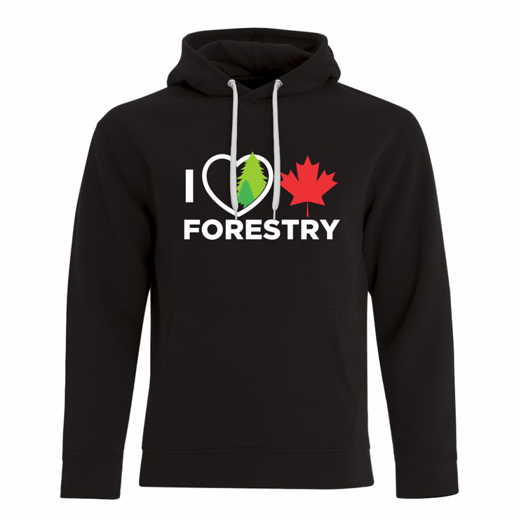 'I Love Canadian Forestry' ProFleece Hoodie