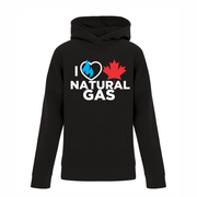 'I Love Canadian Natural Gas' Youth Hoodie