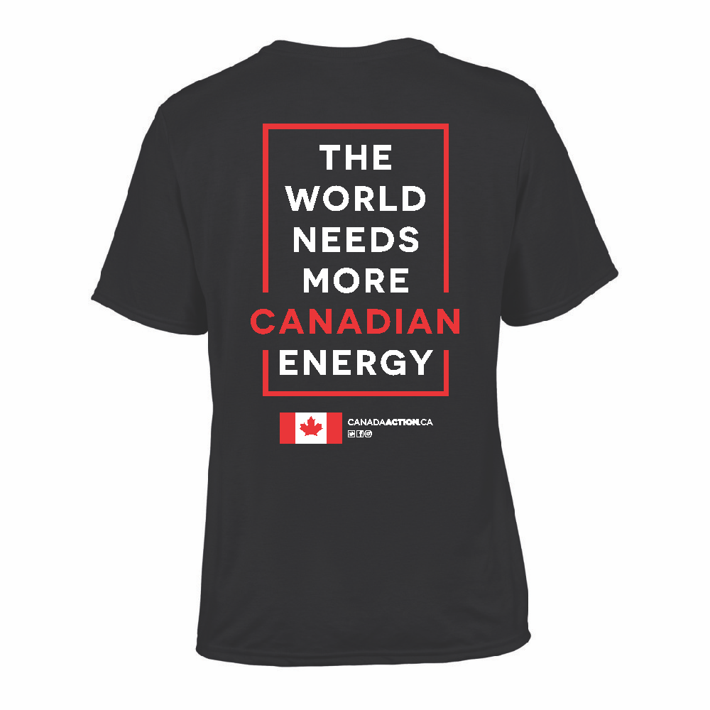 'I Love Canadian Natural Gas' Performance Tee