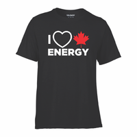 'I Love Canadian Energy' Performance Tee
