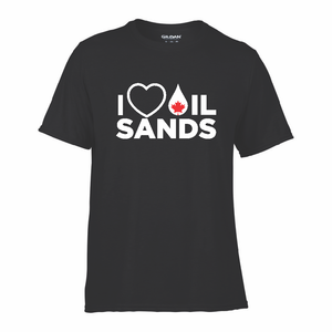 'I Love Oil Sands' Performance Tee