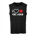 'I Love Canadian Oil & Gas' Performance Tank Top