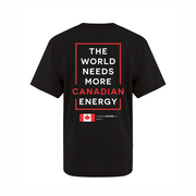 'I Love Canadian Oil Sands' Youth Tee