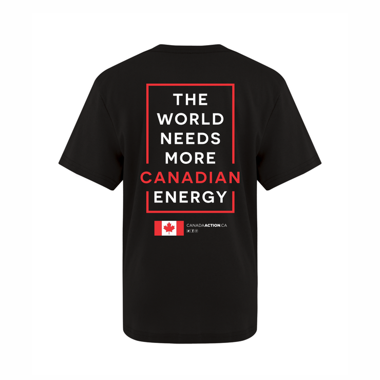 'I Love Canadian Pipelines' Youth Tee