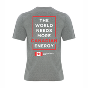 'I Love Canadian Energy' Ring Spun Tee