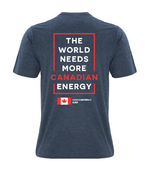 'I Love Canadian Wind' Ring Spun Tee