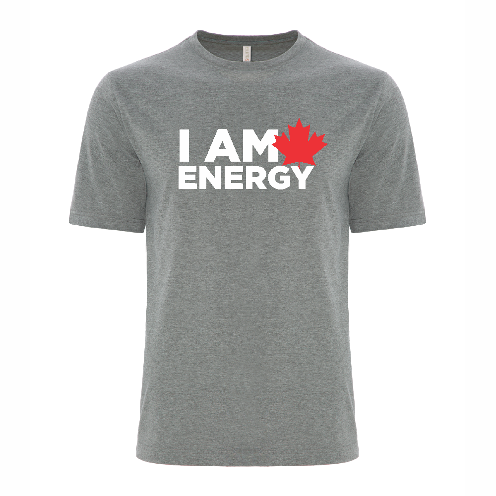 'I am Canadian Energy' Ring Spun Tee