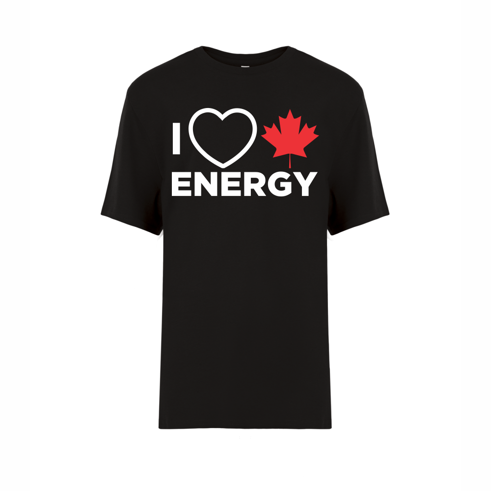 'I Love Canadian Energy' Youth Tee