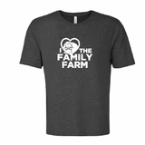 'I Love Family Farms' Ring Spun Tee