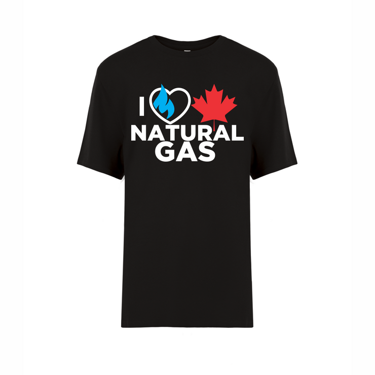 'I Love Canadian Natural Gas' Youth Tee