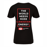 'I Love Canadian Energy'  Women's V-neck