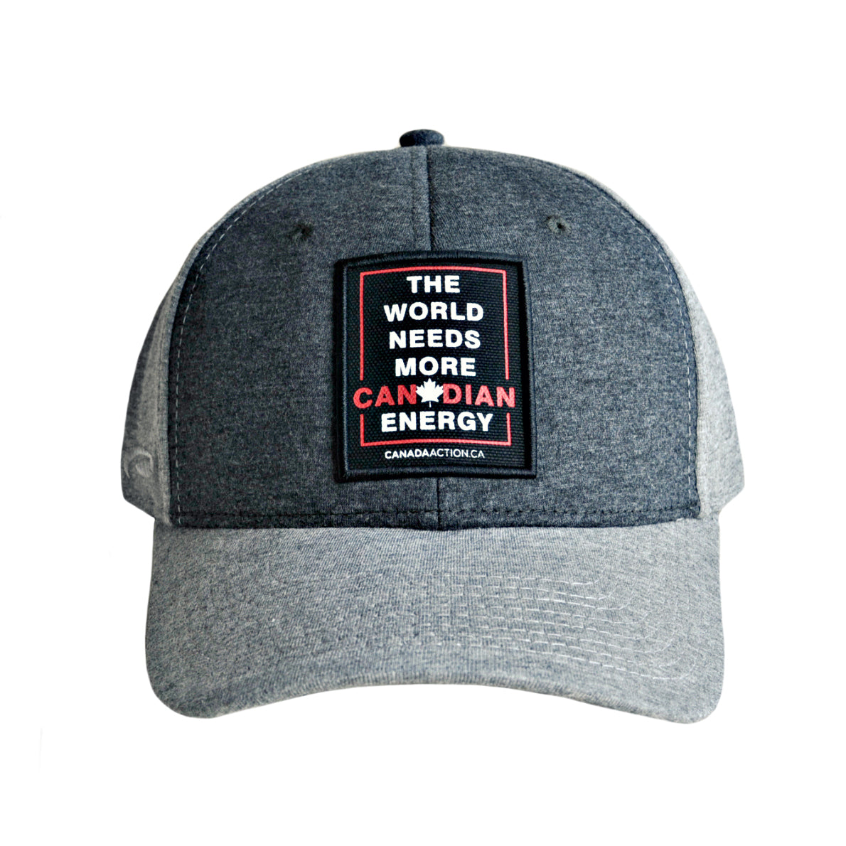 'The World Needs More Canadian Energy' Two Tone Snapback Hat