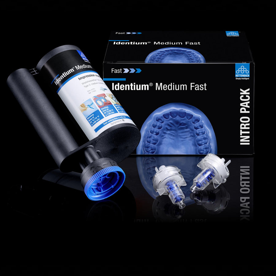 Identium Medium Fast - A Silicone / Polyether Blend