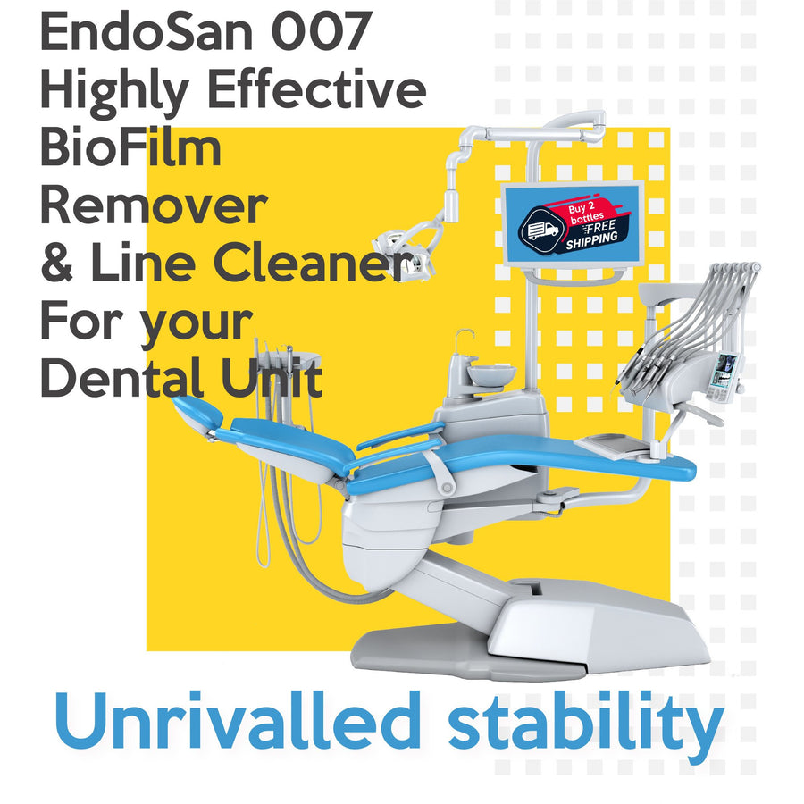 EndoSan007 Highly Effective Biofilm Remover 5 Litre Silver Stabilised Hydrogen Peroxide