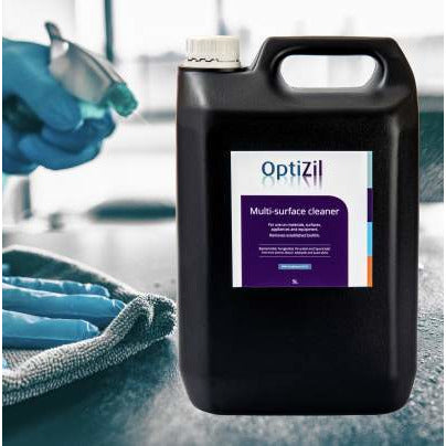 OptiZil Multi Surface Disinfectant & Hand Sanitiser - £35 plus vat (5L bottle)