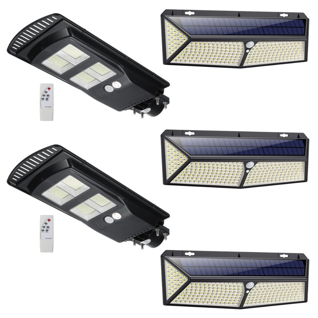 140W Solar Street Light 14000LM + 288 LED Solar Light Bundle Offer
