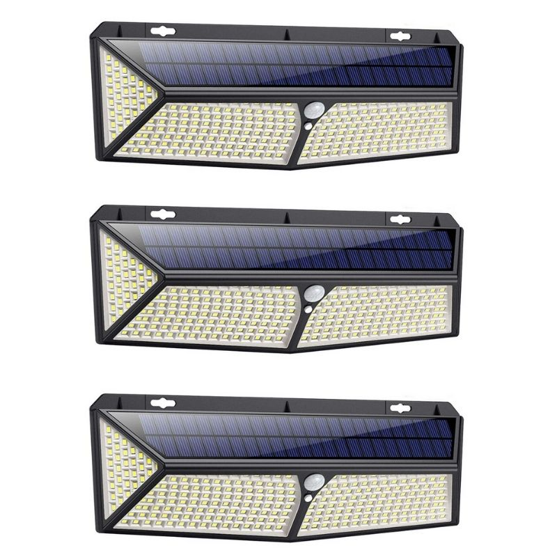 288 LED Solar Light 2500 Lumens