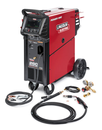 "Lincoln Power MIG Welder 260 w/ 7"" Color Display"