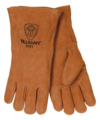 "Tillman Split Cowhide 14"" Welding Gloves - Brown - 1001"
