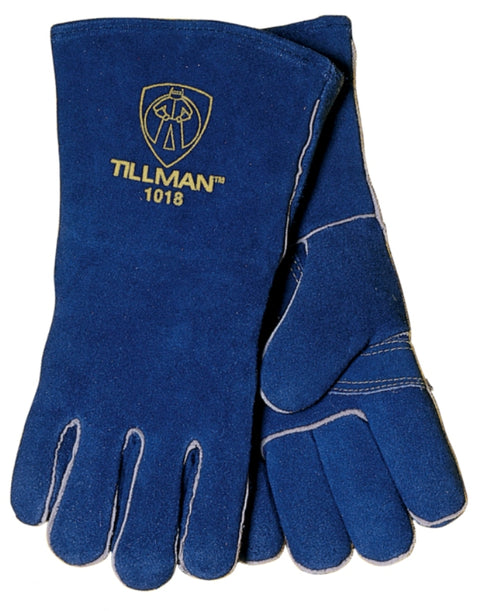 "Tillman Split Cowhide 14"" Welding Gloves - Brown - 1018"