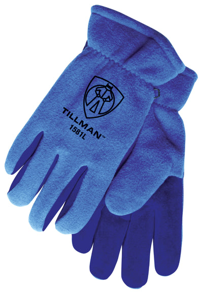 Tillman Polar Fleece/Split Cowhide Winter Work Gloves - 1581
