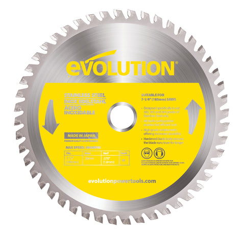 "Evolution 7 1/4"" Stainless Cutting Blade"