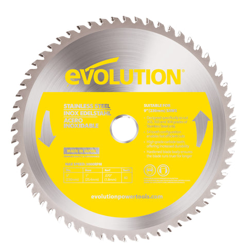 "Evolution 9"" Stainless Cutting Blade"